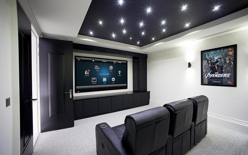 Beautify Your Home Theater With Hidden Audio Video